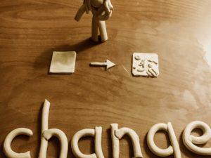 A Change!